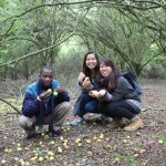 Epping forest, London IPUK delegates from Africa and Hong Kong marvel at the wasted abundance in a major city