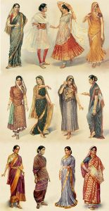 A Sari is a great wrap for large presents. It can be worn as a dress (it doesn't need sizing) and can be used as a curtain, a tablecloth and much more