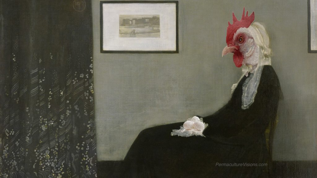 spoof on whistlers mother