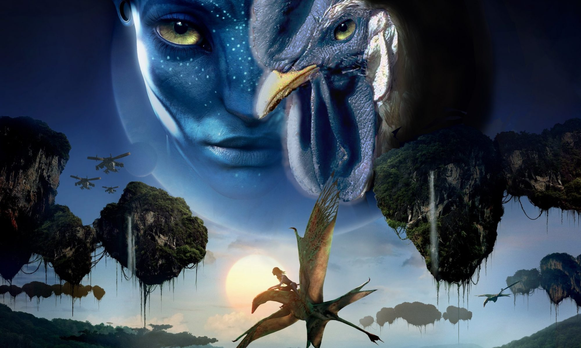 Spoof on the poster for Avatar the movie